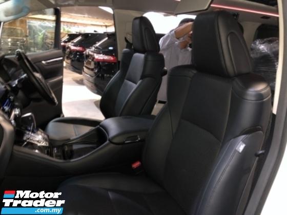2019 TOYOTA ALPHARD Unreg Toyota Alphard SC 2.5 7seather 360view Sun Roof Home Theater JBL Sounds DIM System Push Start