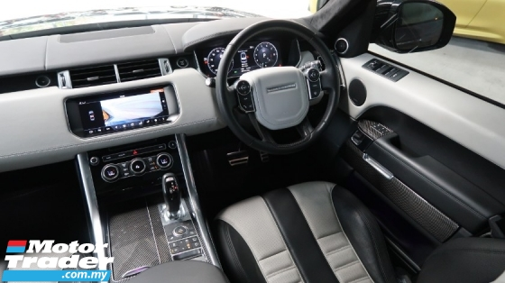 2017 LAND ROVER RANGE ROVER SPORT 5.0 V8 SUPERCHARGED SPORT EXHAUST CF INTERIOR SALE