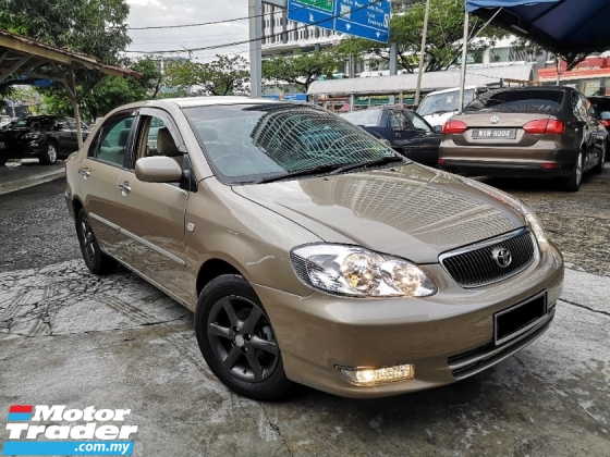 2003 TOYOTA COROLLA ALTIS 1.8 G (A) New Paint Full Spec