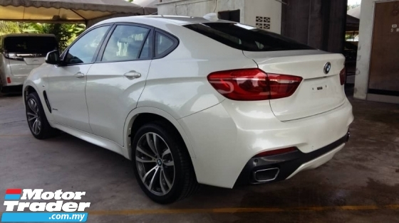 2015 BMW X6 3.0 TDI M Sport Sunroof Unregistered