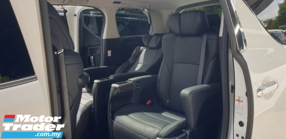 2019 TOYOTA ALPHARD 2.5 SC 8 SPPED NEW FACELIFT UNREG NO HIDDEN CHARGE