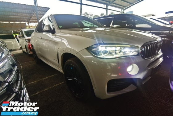 2015 BMW X6 XDRIVE40D MSPORT SUNROOF ADAPTIVE LED HARMAN KARDON HUD FULL SPEC 2015 UNREG FREE GMR WARRANTY