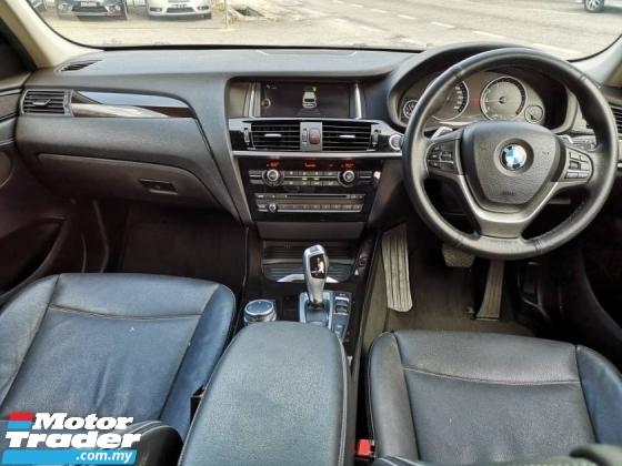 2015 BMW X3 2.0 PETROL XDRIVE 20i FACELIFT MODEL