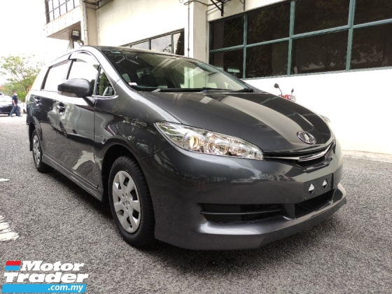 2015 TOYOTA WISH 1.8 X UNREGISTERED GOOD DEAL