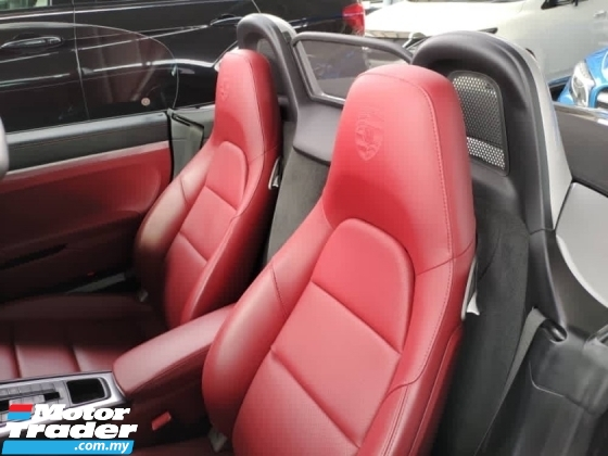 2017 PORSCHE 718 Unreg Porsche Boxster 718 2.0 Turbo PDK 7Speed Paddle Shift Convetible Top