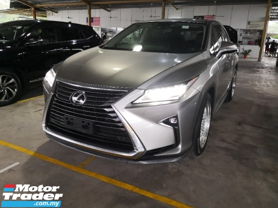 2018 LEXUS RX RX300 Sunroof INC SST 2 YEARS WARRANTY Japan Unreg