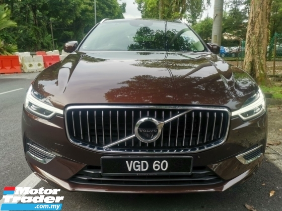 2018 VOLVO XC60 Volvo XC60 2.0 T8 INSCRIPTION PLUS (A) NICE NUMBER 60 UNDER WARRANT