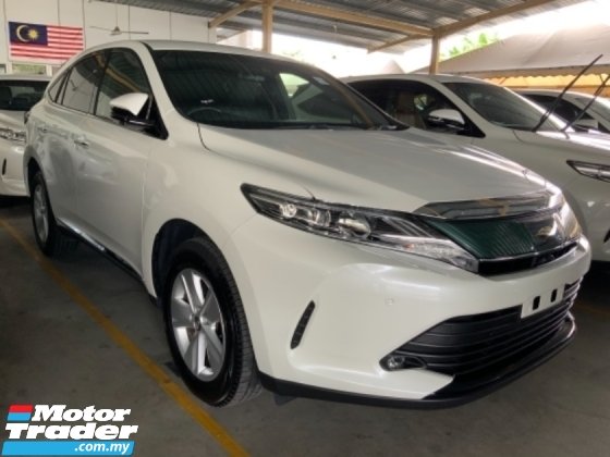 2018 TOYOTA HARRIER 2.0 Surround camera power boot facelift many units precrash system Unregistered