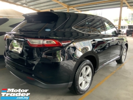2018 TOYOTA HARRIER 2.0 surround camera power boot facelift Panoramic roof precrash system unregistered