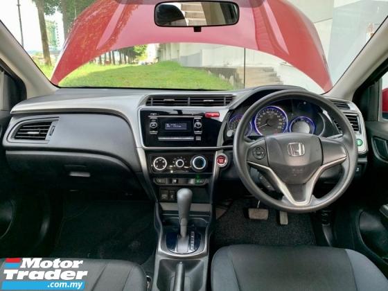 2016 HONDA CITY E 1.5L I-VTEC (AUTO)