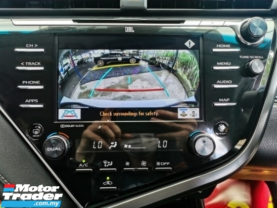 2019 TOYOTA CAMRY Toyota CAMRY 2.5 V FACELIFT F/SPEC JBL UndWARRNTY