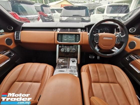 2016 LAND ROVER RANGE ROVER VOGUE 5.0L L.W.B AutoBiography Full Spec* 100%-Genuine Mileage* Highest Grade Car* Cayenne Velar Sport