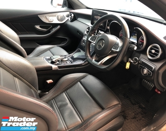 2017 MERCEDES-BENZ C-CLASS C43 COUPE AMG 4MATIC