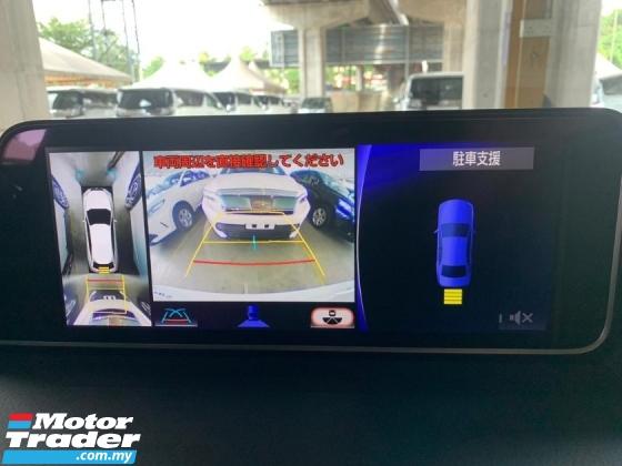 2017 LEXUS RX 200t 2.0 F-Sport Unregister Red Interior High Spec
