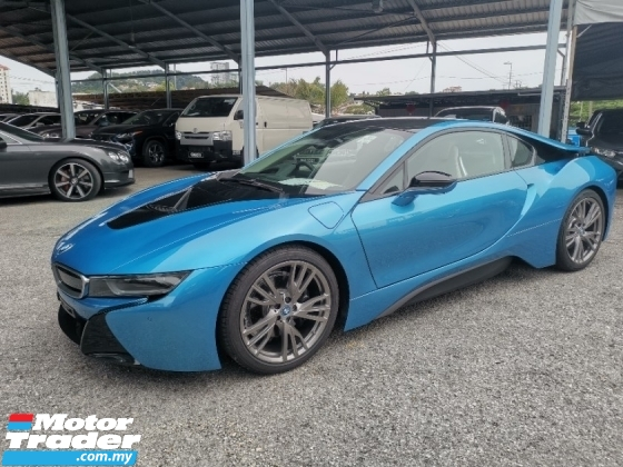 2016 BMW I8 1.5 Coupe Unregister Recon