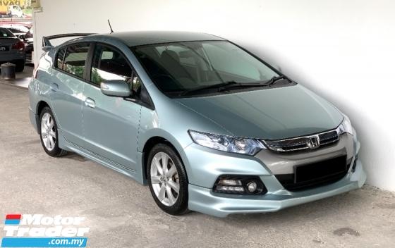 2012 HONDA INSIGHT 1.3 (A) F/Service Record at Honda Malaysia