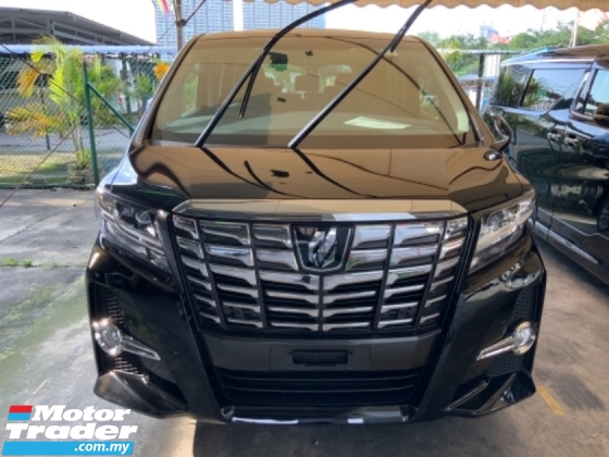 2017 TOYOTA ALPHARD 2.5 SA Surround camera power boot high spec 7 seaters Many unit 2 power doors Unregistred