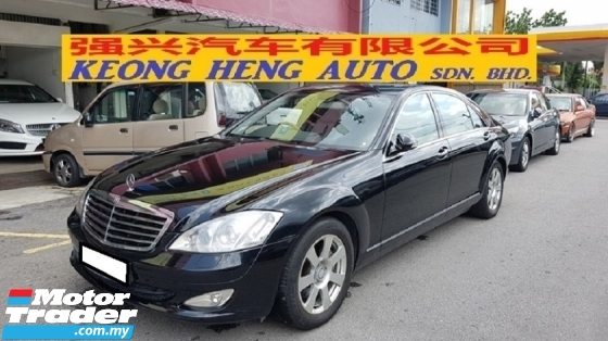 2007 MERCEDES-BENZ S-CLASS S300L 3.0cc (A) REG 2008, CKD, ACCIDENT FREE