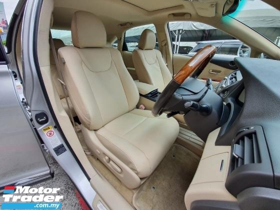 2010 LEXUS RX 350 V6 (A) CBU * 2 digit Reg Number* Sunroof