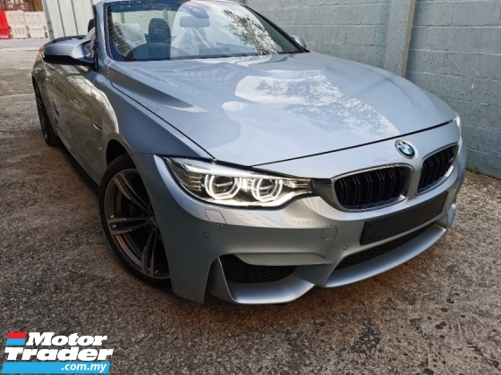 2016 BMW M4 Convertible Full Spec Silver And Black Colour