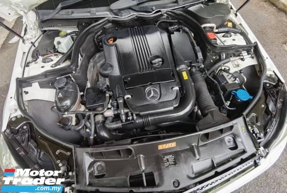 2013 MERCEDES-BENZ C-CLASS C200 1.8 W204 CGI FACELIFT AMG SPEC LOCAL C63 KIT