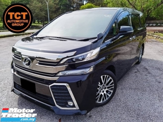 2015 TOYOTA VELLFIRE 2.5 ZG FACELIFT PILOT SEAT JBL SOUND SYSTEM SEMI LEATHER SEAT MEMORY  POWER ADJUST SEAT