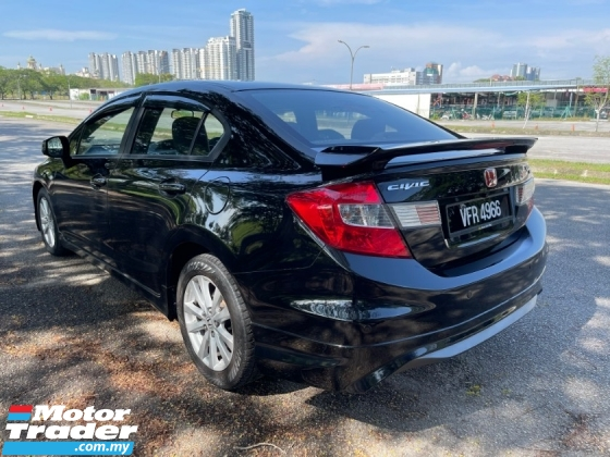 2014 HONDA CIVIC 1.8 S (A) 1 Owner Only Leather Seat TipTop