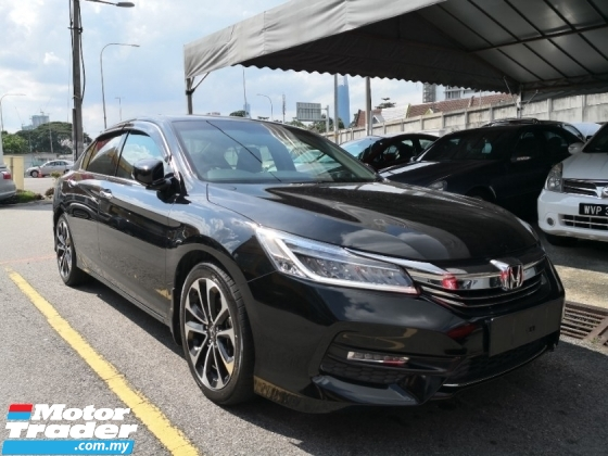 2017 HONDA ACCORD 2.4 I VTEC Year Made 2017 9th Generation NEW FACELIFT Mil 49k km only Honda Warranty to March 2022