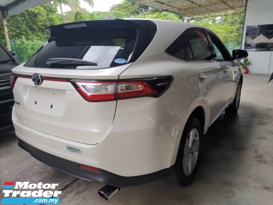 2017 TOYOTA HARRIER 2.0 FACELIFT 4 CAMERA POWER BOOTH BLACK INTERIOR PRE CRASH 2017 JAPAN UNREG FREE 3 YRS GMR WARRANTY