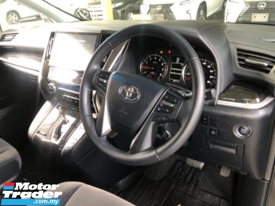 2018 TOYOTA VELLFIRE Unreg Toyota Vellfire Z 2.5 7seather 360view Power Boot LED Light Pre Crash Push Start 7G