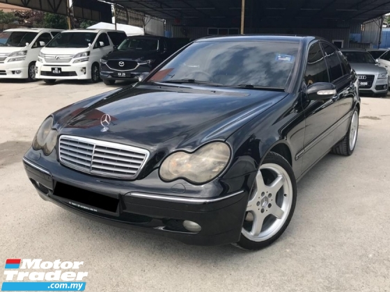2001 MERCEDES-BENZ C-CLASS C320 C32 AMG 1 OWNER COLLECTION CAR MUST IN GARAGE