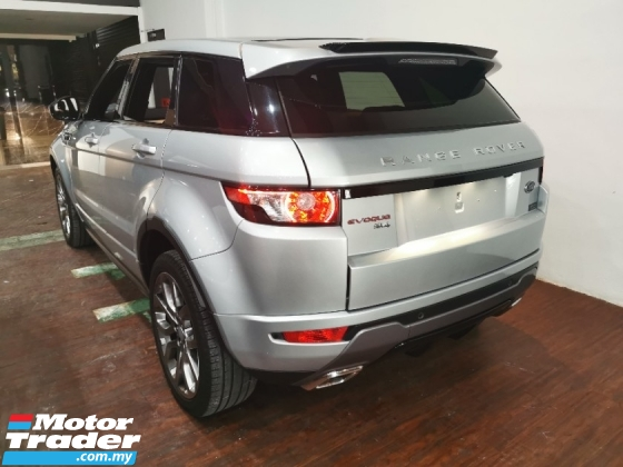 2016 LAND ROVER EVOQUE Full Spec Dynamic,Head Up Display,Panroof,Meridian