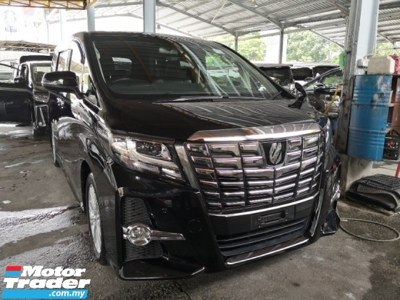 2016 TOYOTA ALPHARD 2.5 S INC SST 3 Years Warranty 360 Cameras Dual Power Sliding Doors Power Boot Unreg