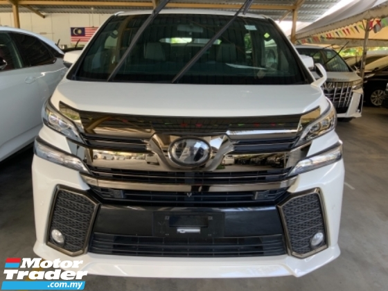 2017 TOYOTA VELLFIRE 2.5 Golden Eye High Spec Nice Condition Free Gift