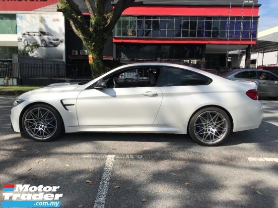 2017 BMW M4 M SPORT COMPETITION HIGH SPEC UK NEW UNREG