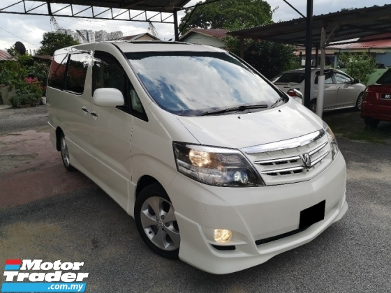 2006 TOYOTA ALPHARD 2.4 V-Limited Sunroof Theater Surround System