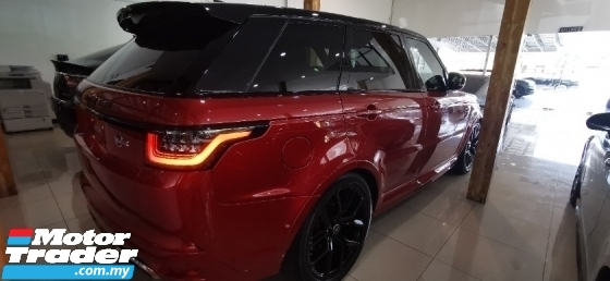2018 LAND ROVER RANGE ROVER SPORT SVR 5.0 SUPERCHARGE /  / TIPTOP CONDITION ORIGINAL MILEAGE