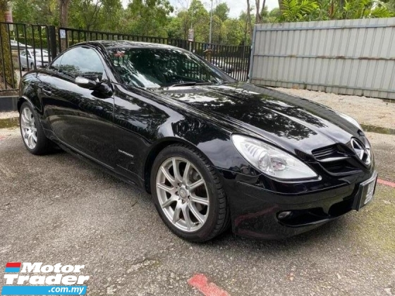 2008 MERCEDES-BENZ SLK SLK200 CONVERTIBLE SUPER NICE HIGH SPEC 2008/2011
