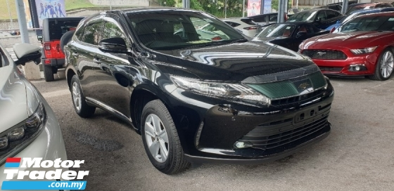 2018 TOYOTA HARRIER 2.0 ELEGANCE  LOW MILEAGE SHOWROOM COND UNREG