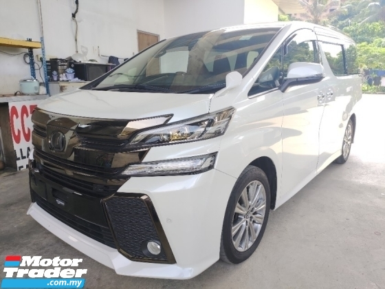 2017 TOYOTA VELLFIRE 2.5 GOLDEN EYES INC SST PRE CRASH SYSYTEM FREE WARRANTY 360 SURROUND CAMERA
