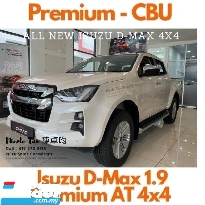 2021 ISUZU D-MAX STEALTH 1.9 (A) 4X4