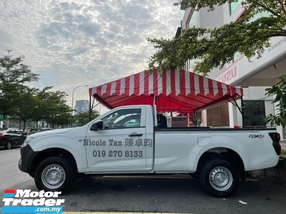 2021 ISUZU D-MAX Single Cab 4x4 Manual 2 seater