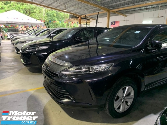 2018 TOYOTA HARRIER 2.0 Facelift Unreg 4Cam Android P/Boot Many Unit !