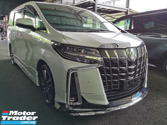2018 TOYOTA ALPHARD 2.5 SC FULL 3 LED B/KIT PROMOTION CNY OFFER