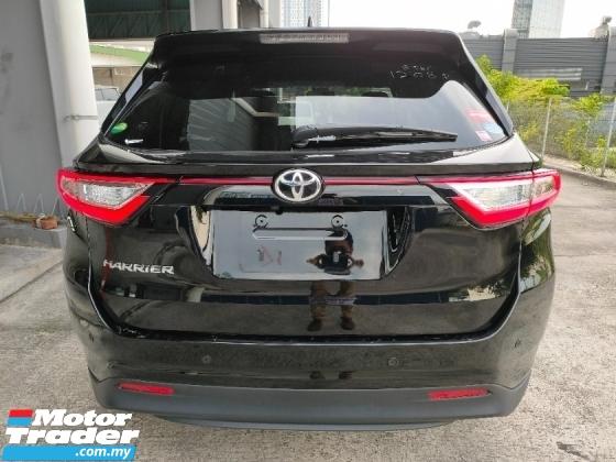 2018 TOYOTA HARRIER 2.0 Facelift Elegance Panaromic Roof PreCrash LDA Unregister