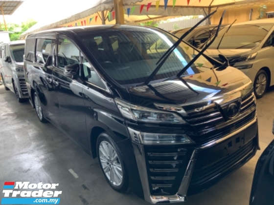 2018 TOYOTA VELLFIRE 2.5 Z Grade A High spec Many unit Free Gift 3 years Warranty Unregistered