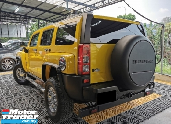 2007 HUMMER H3 Hummer H3 3.7 (A) 4WD SUNROOF LEATHER WARRANTY