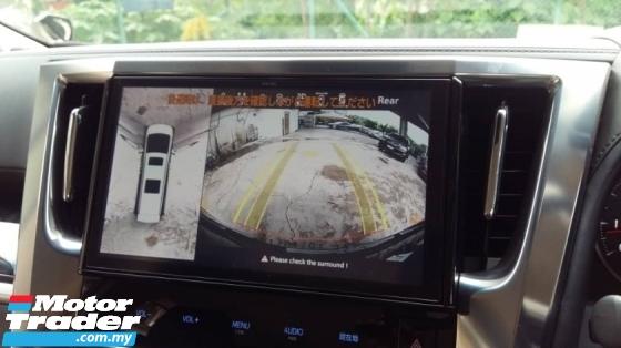 2018 TOYOTA VELLFIRE 2.5 Z Power Boot Surround Camera Pre Crash System