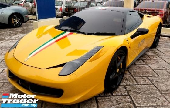 2011 FERRARI 458 ITALIA FULL SERVICE BY NAZA MILEAGE DONE 27K VIP OWNER
