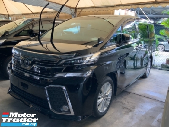 2018 TOYOTA VELLFIRE 2.5 Z Surround camera power boot Many units Good condition Free Gift 3 Years Warranty Unregistered